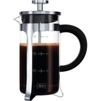 MELITTA Cafetiere a piston Premium en verre et inox 8 tasses