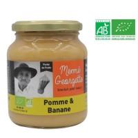 MEME GEORGETTE Purée de bio pomme banane - 360g