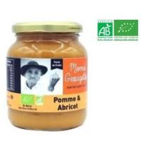 MEME GEORGETTE Purée de pomme abricot bio - 360g