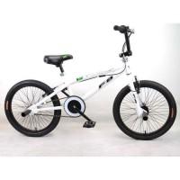 "MERCIER Vélo BMX Freestyle 20"" 4 Pegs - Blanc"
