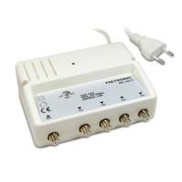 METRONIC 432175 Amplificateur d'intérieur répartiteur blindé UHF 4 sorties fiche F