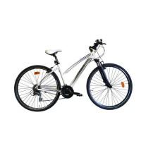 MGR Vélo VTC Broklyn - Femme - Blanc - Personnes de 175 cm