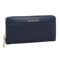 MICHAEL KORS 32S7GM9E9L - Porte-monnaie Mercer - Bleu Amiral - Femme