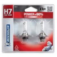 MICHELIN Power +80% 2 H7 12V 55W