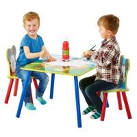 MICKEY ET SES AMIS Ensemble Table Et 2 Chaises