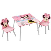 MINNIE Ensemble Table Et 2 Chaises
