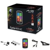 "MIO GPS vélo 405 HC WEU - Processeur ARM Cortex-A7 - GPS Chipset U-blox 7 - Écran tactile 4"" - 360 x 600 - 73,7 x 129,4 x 22 mm"