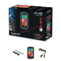"MIO GPS vélo 405 WEU - Processeur ARM Cortex-A7 - GPS Chipset U-blox 7 - Écran tactile 4"" - 360 x 600 - 73,7 x 129,4 x 22 mm"