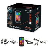 "MIO GPS vélo 605 HC WEU - Processeur ARM Cortex-A7 - GPS Chipset U-blox 7 - Écran tactile 4"" - 360 x 600 - 73,7 x 129,4 x 22 mm"