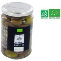 Mixte olive dénoyautée bio - 280 g
