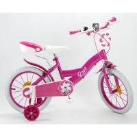 """Mon Vélo 14"""" Equipé - Enfant Fille - Rose"""