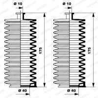 MOOG Kit soufflets de direction K150005