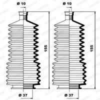 MOOG Kit soufflets de direction K150115