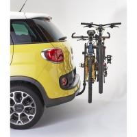 MOTTEZ Porte vélo attelage suspendu 2 vélos avec antivol