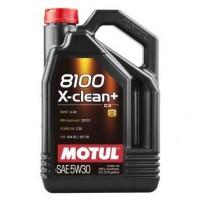 MOTUL Huile 8100 X-CLEAN+ 5W30 5L (bidon)