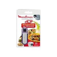 MOULINEX Accessoires XA600111 Clé USB theme du monde pour Cookeo