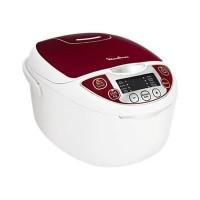 MOULINEX MK705111 Multicuiseur électrique - Blanc et Rouge