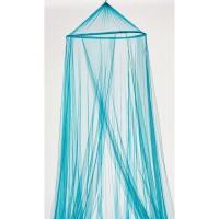Moustiquaire ciel de lit - 60x250x1200 cm - Bleu