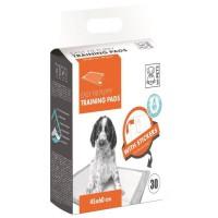 M-PETS Tapis d'apprentissage Easy Fix - 30 pieces - 45x60cm - Pour chiot