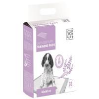 M-PETS Tapis d'apprentissage Lavender - 30 pieces - 45x60cm - Pour chiot