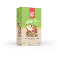Mulesli Mulebar Bio & Vegan 350 g : Pomme - Cannelle
