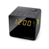 MUSE M-187 CR Radio Reveil Double Alarme - Tuner PLL FM - 20 Présélections