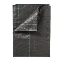 NATURE Toile de paillage paysages - Polypropylere tissé - 100 g/m² - 1 x 50 m - Noir