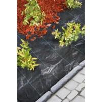 NATURE Toile de paillage spécial paysages en polypropylene tissé 3,30x5m - Noir