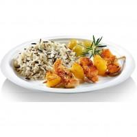 NATURESSE - 5015-12 - 12 assiettes rondes - Canne a sucre - Diametre 18 cm
