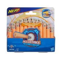 Nerf - Pack de 24 Flechettes Nerf Accustrike Officielles