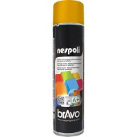 NESPOLI Aérosol de peinture - Jaune signal - 600 ml