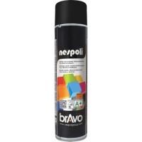 NESPOLI Aérosol de peinture - Noir brillant - 600 ml