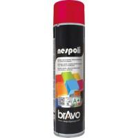 NESPOLI Aérosol de peinture - Rouge feu - 600 ml