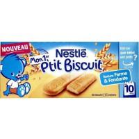 NESTLÉ Mon 1er P'tit biscuit 4 sachets - 180 g - Des 10 mois