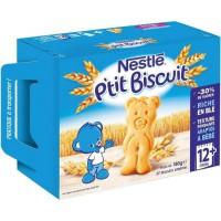 NESTLE P'tit Biscuit dés 12 mois 180g