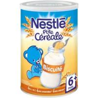 NESTLÉ P'tite Céréale Biscuité - 400 g - Des 6 mois