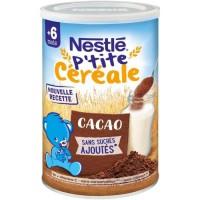 NESTLÉ P'tite Céréale Cacao - 400 g - Des 6 mois
