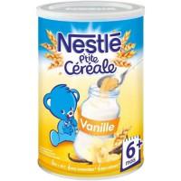NESTLÉ P'tite Céréale Vanille - 400 g - Des 6 mois