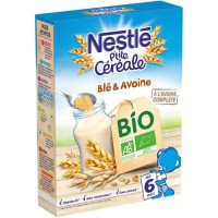 NESTLÉ P'tite Céréales Bio Blé & avoine - 240 g - Des 6 mois