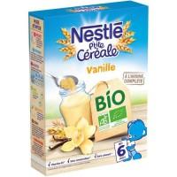 NESTLÉ P'tite Céréales Bio Vanille - 240 g - Des 6 mois