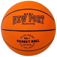 NEW PORT Ballon de basketball - Orange