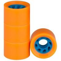 NIJDAM Roues pour mini skate plastique - Orange