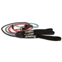 NUM'AXES Laisse en nylon Sport Coneck'T 1,20m - Noir - Pour chien