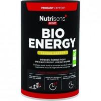 NUTRISENS Complément alimentaire - Pot de 480 g pour préparation de boisson énergétique Bio Energy - Orange