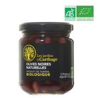 Olives noires naturelles - Bio - 130 g