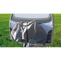 OPTIMA Bâche de protection caravane pour 2 vélos