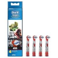 Oral-B Stages Power 4 brossettes de rechange pour brosse a dents électrique Star Wars