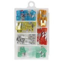 OROK Assortiment de mini fusibles enfichables - Boîte de 50 pieces
