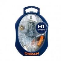 OSRAM Boîte de lampes de rechange halogenes H1 - 12V
