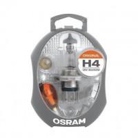 OSRAM Boîte de lampes de rechange halogenes H4 - 12V